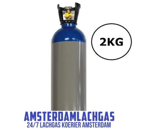 Lachgas fles Amsterdam