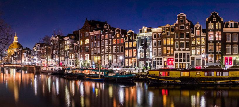 De lachgas koerier van Amsterdam